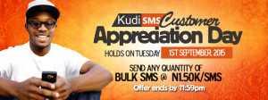 KudiSMS Customer Appreciation Day-September